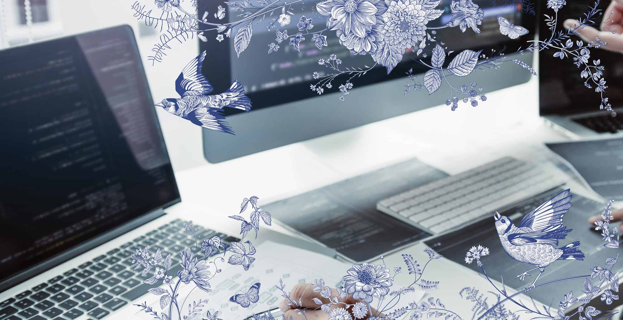 WEB & COPY designのトップイメージ画像